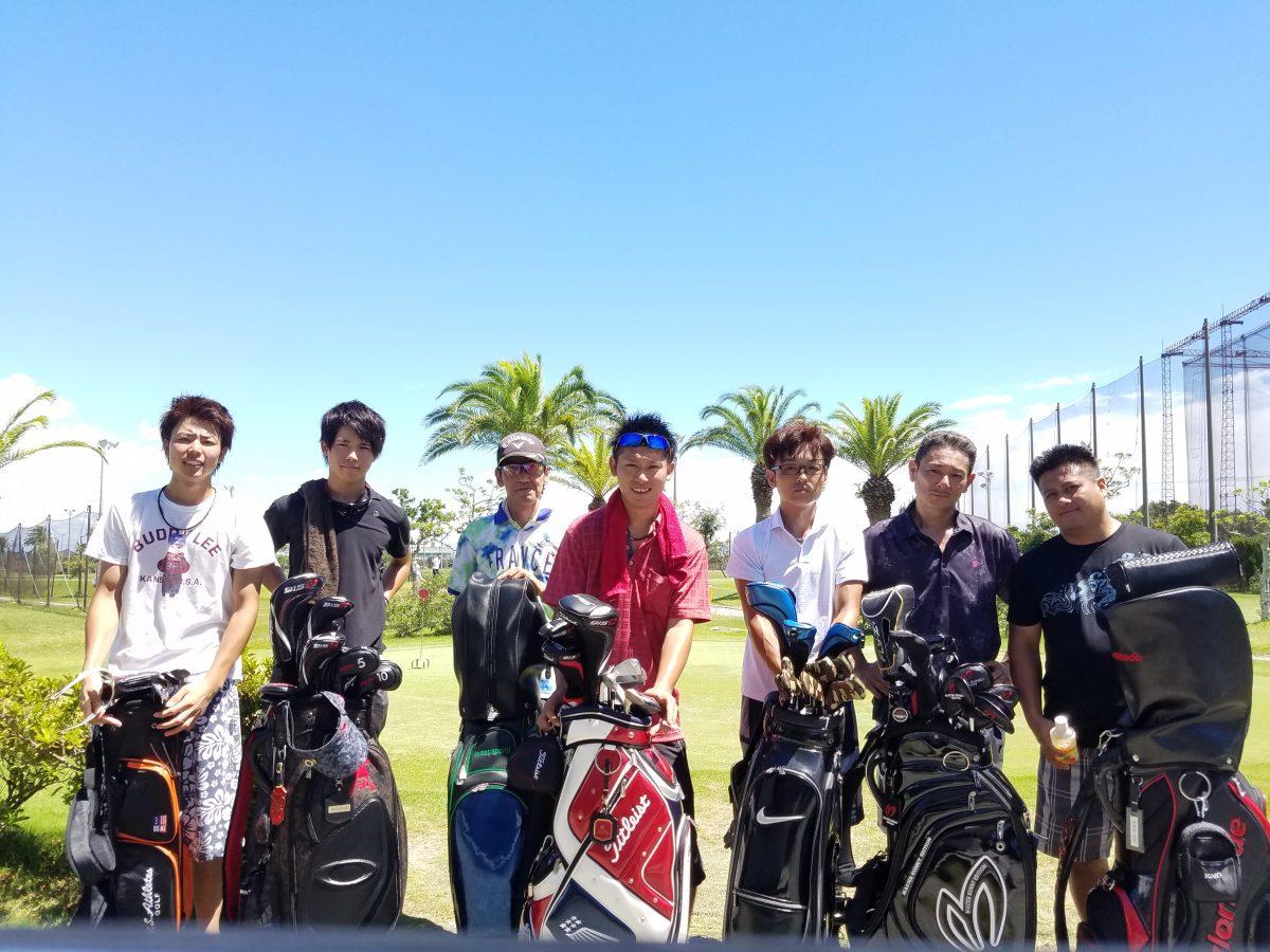 ゴルフメンバーとショートコースに出掛けました。